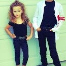 Adorably Easy Homemade Grease Couple Costumes