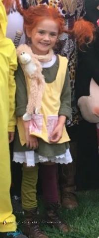 easy homemade pippi longstocking costume
