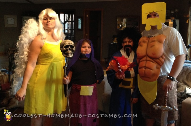 Clash of Clans Family Costume