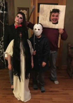 scariest diy horror movie characters for a family costume