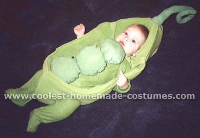 Peas in the Pod costume