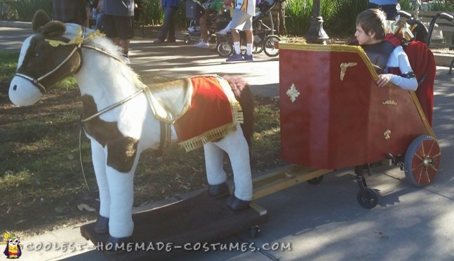 Chariot Wheelchair Gladiator Costume