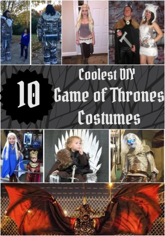 Homemade Game of Thrones Halloween costumes