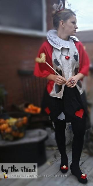 Super Inexpensive Queen Of Hearts Adult Costume