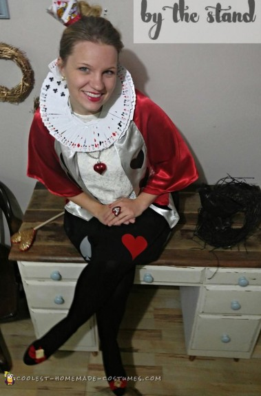 Super Inexpensive Queen Of Hearts Adult Costume