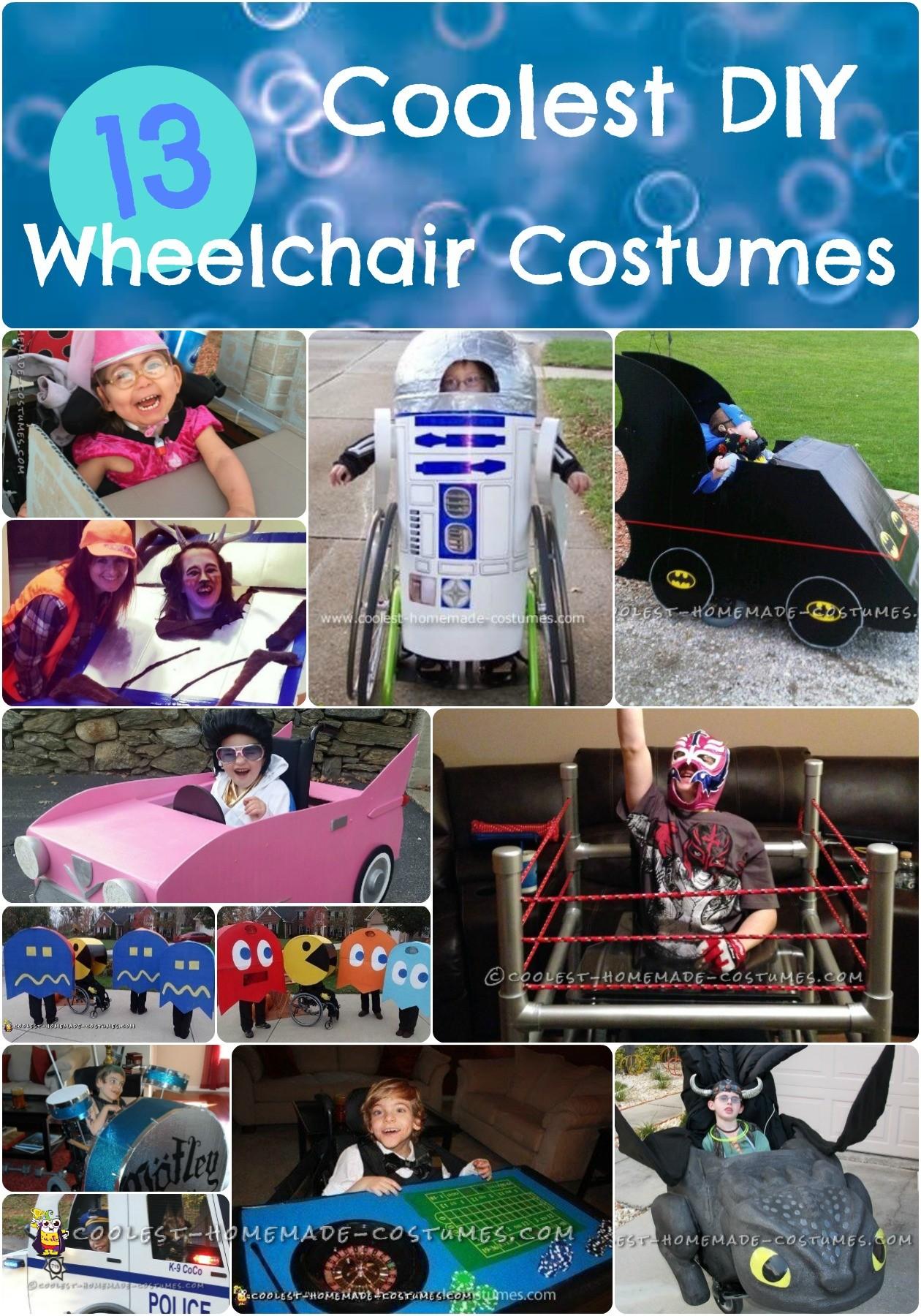 DIY Wheelchair Costumes