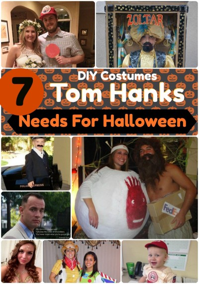 Top 7 Movie Character Costumes Tom Hanks Needs for Halloween