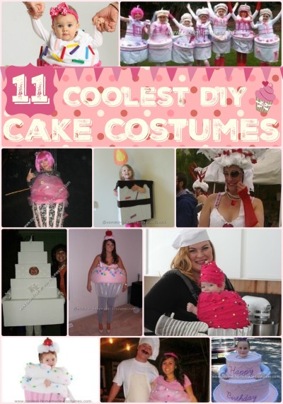Homemade Cake Costume Ideas to Satisfy Your Sweet Tooth