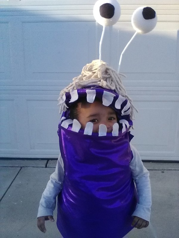 Coolest boo from monsters inc costume