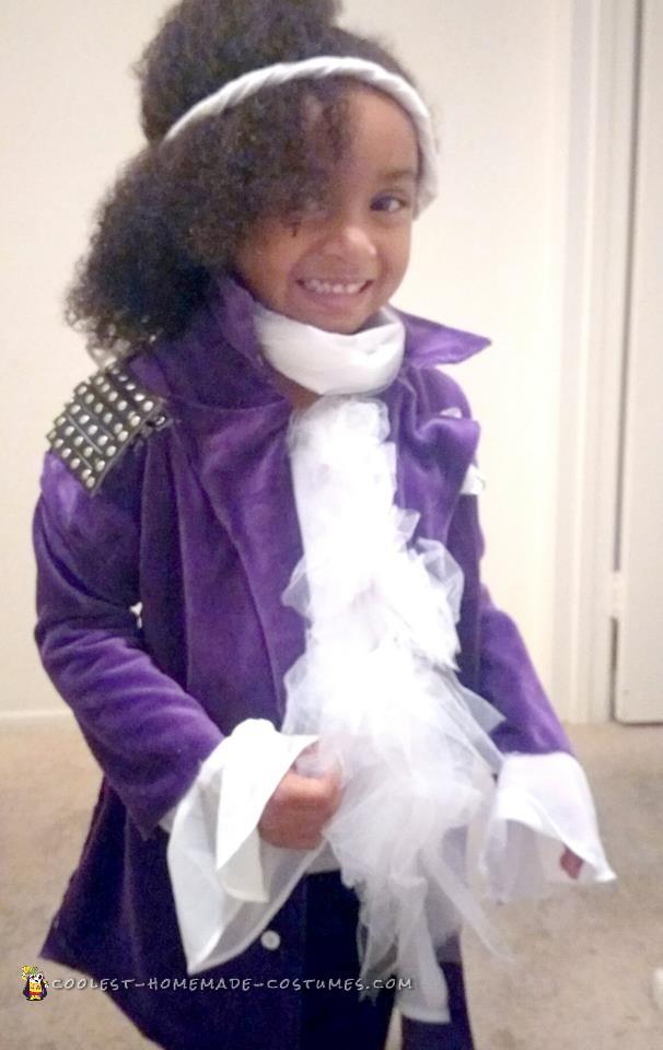 Coolest Purple Rain Costume