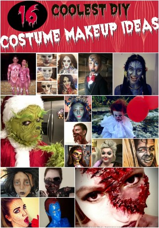 DIY Costume Makeup Ideas