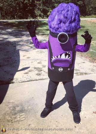 DIY Evil Purple Minion Costume