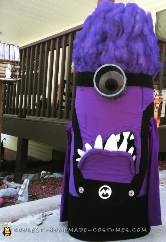DIY Evil Purple Minion Costume
