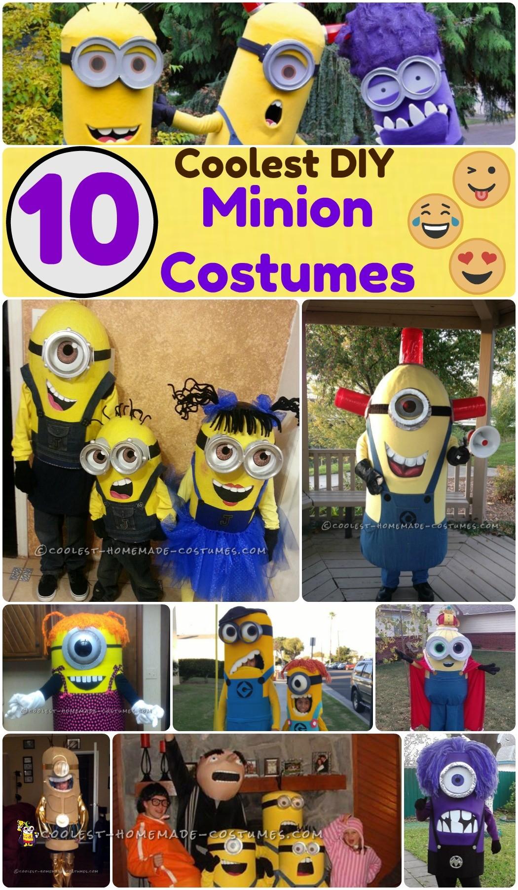 minion costume ideas