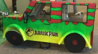 Jurassic Park Jeep Costume