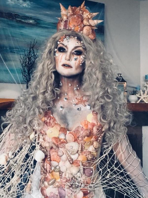 Scary sea queen!