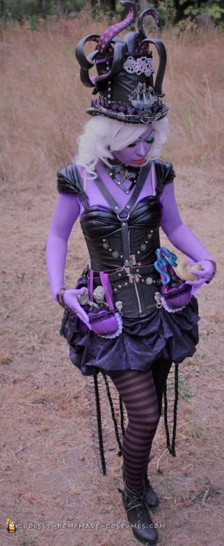 steampunk ursula costume