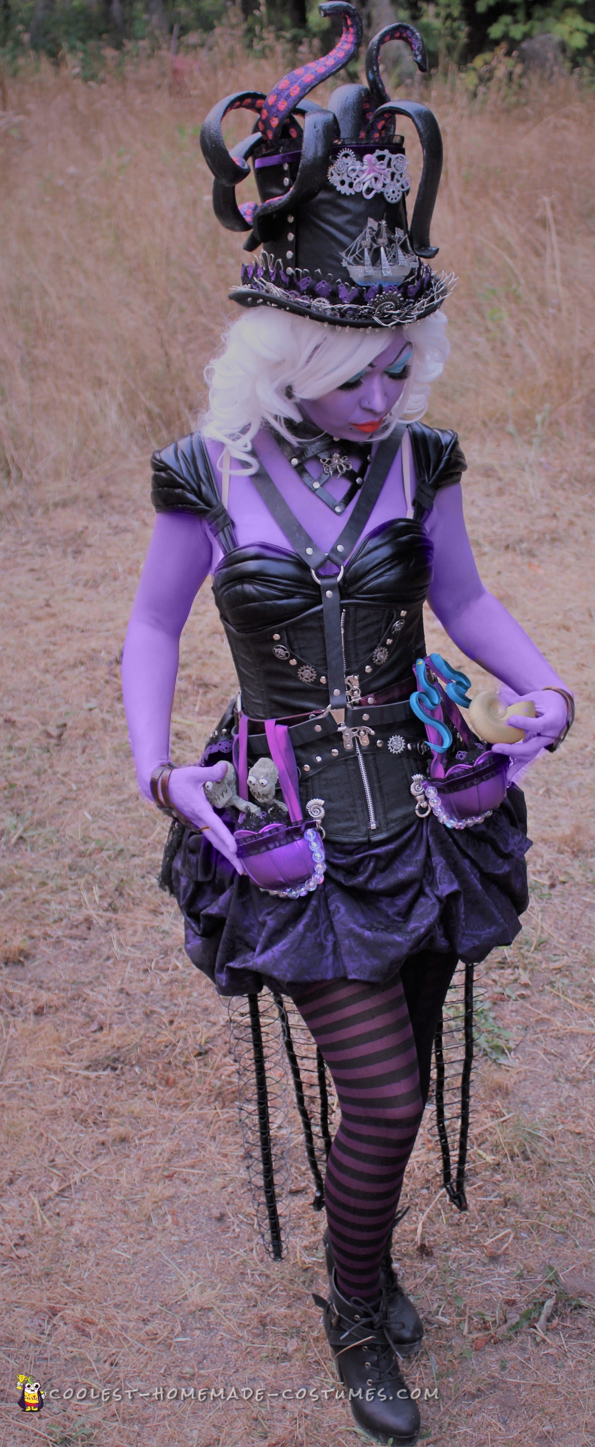 Awesome DIY Steampunk Ursula Costume is Making Waves