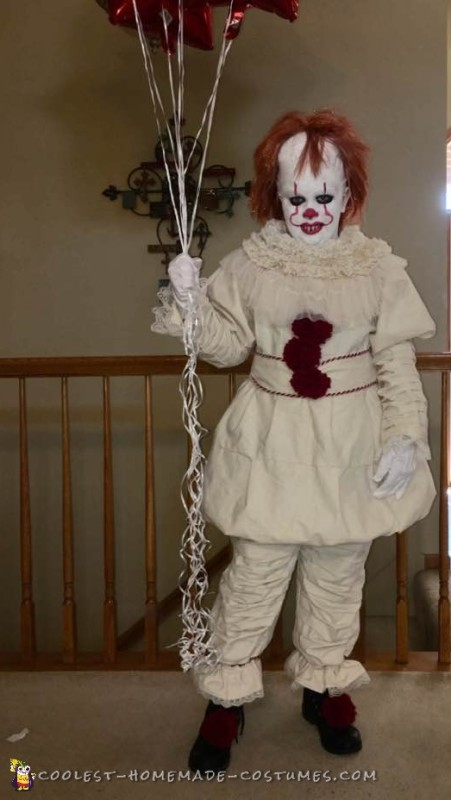 The Best Homemade Pennywise 60 Costume EVER Classy Pennywise Costume Pattern