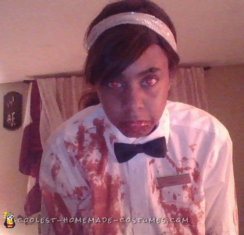 The Scareiest Waitress Costume every made for women