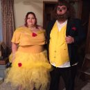 Belle of the Ball and her Beast Couple Costume