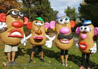 Coolest Mr Potato Head Family