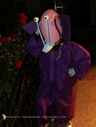 Coolest Gary the Snail Costume