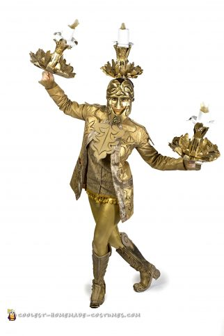 Lumiere Costume (and his Plumette) from Beauty and the Beast