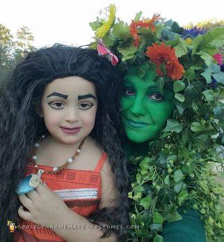 Moana Family Costumes