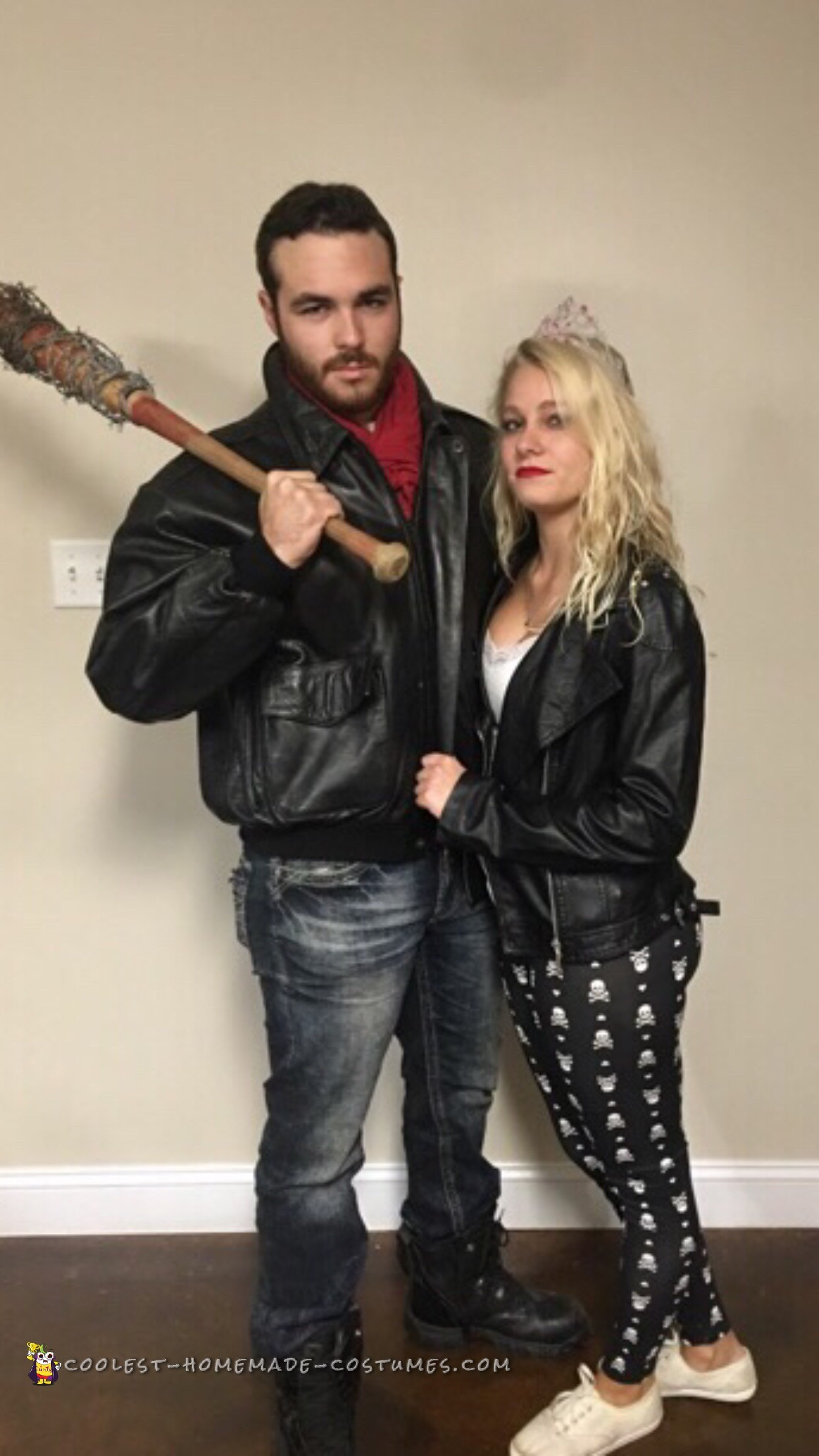 The hot Negan and his wife