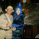 Zoo Keeper and Peacock Couple Costume