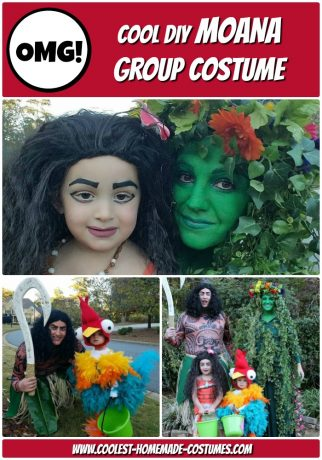 Moana Family Costumes