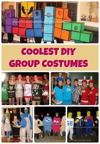 Best Group Halloween Costumes 2019.Pacman Pacman Group Costume In 2019 Group Costumes