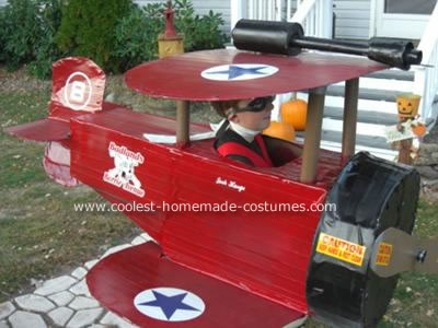Coolest Airplane Costume