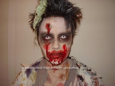Art Student Zombie Costume