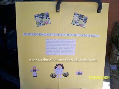Baby Cabbage Patch Costume