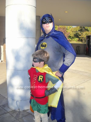 Batman Robin Catwoman and Penguin Halloween Costume