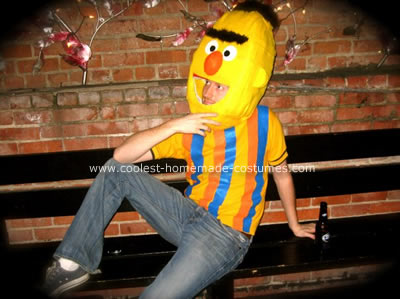 Bert and Ernie Couple Costume