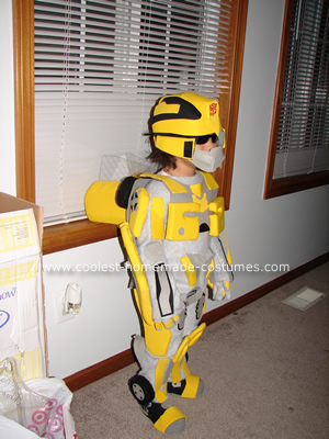 Bumble Bee Transformer Costume