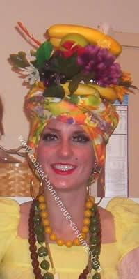 Chiquita Banana Girl Costume