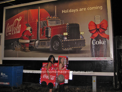 Coca Cola Truck Costume