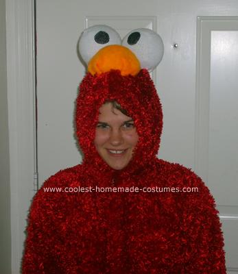 Elmo Costume