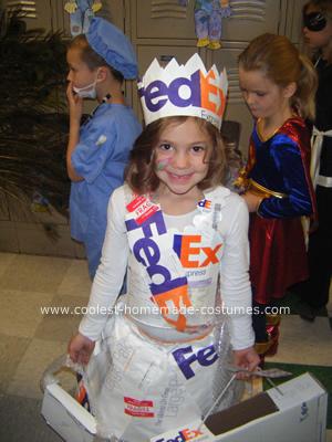 Fed Ex Princess Costume