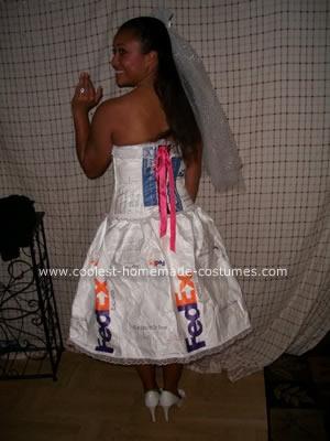 Fedex Mail Order Bride Costume