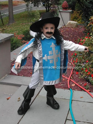 Four Musketeers Costume
