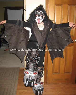 Gene Simmons Kiss Costume