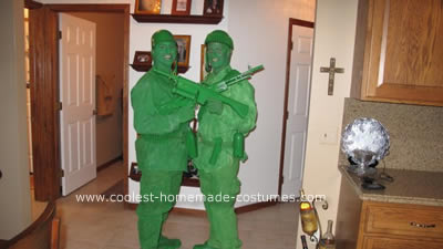 Green Plastic Army Men Costume