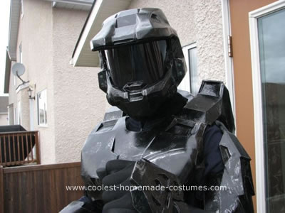 Black Spartan Costume