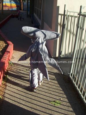 Hammer Head Shark Costume