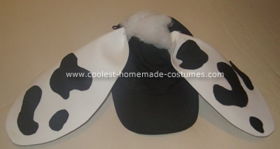 Holstein Cow Costume
